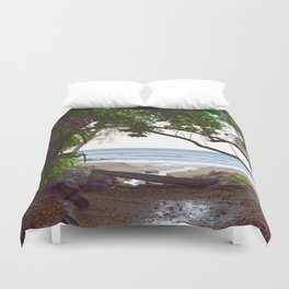 Playa Tamarindo Duvet Cover