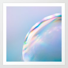 Surface*pastel Art Print