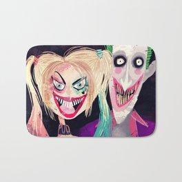 Joker and Harley Quinn Bath Mat