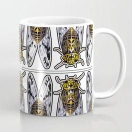 Amber Cicadas Coffee Mug