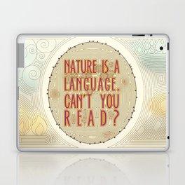 Nature is a Language: The Smiths Lyrics Laptop & iPad Skin