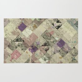 Abstract Geometric Background #25 Rug