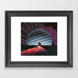 The Light At The End Framed Art Print