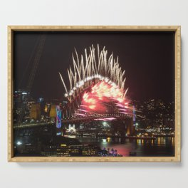 New Years Eve Fireworks, Sydney Serving Tray