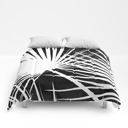 Desaturated Palm Comforters