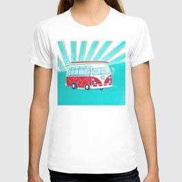 Surfer Sunrise T-shirt