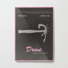 Drive Metal Print
