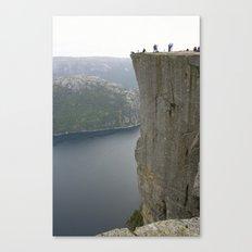 Preikestolen, Norway Canvas Print