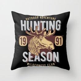 07 Hunt_13 Throw Pillow