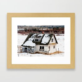 Usona Farm House 4 Framed Art Print