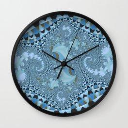 Blue trip Wall Clock