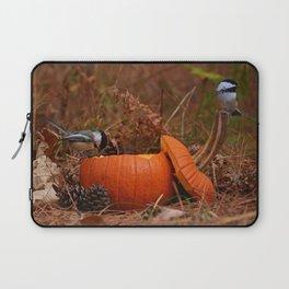 A Chickadee Thanksgiving Laptop Sleeve