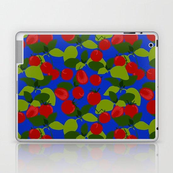 Tomato Basil Pattern Laptop & iPad Skin