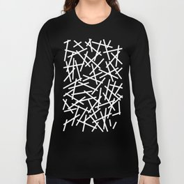 Kerplunk Black and White Long Sleeve T-shirt