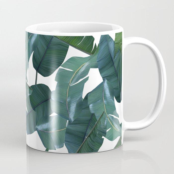 Banana Leaf Decor Society6 Art Coffee Mug