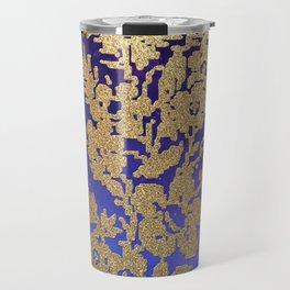 Golde Lace in the Night Sky Travel Mug