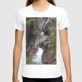 Norwegian waterfall photo, landscape photos, pothole, Instant download, Fine art gifts  T-shirt