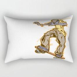 skateboy Rectangular Pillow