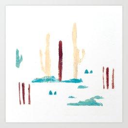 the desert IV Art Print