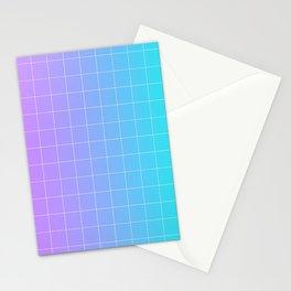 Vaporwave Gradient Stationery Cards