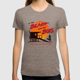 At the Beach with the Boys (90s version) T-shirt