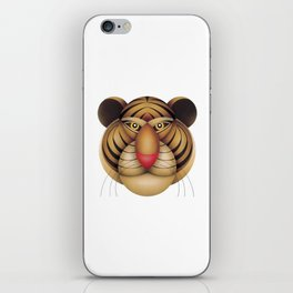 compasses tiger iPhone Skin