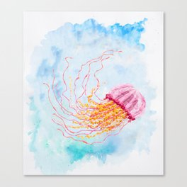 Hoopless: Float On Canvas Print