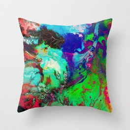 JUST COLOUR Throw Pillow