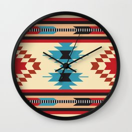 American Native Pattern No. 37 Wall Clock