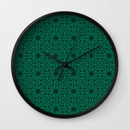 Lush Meadow Lace Wall Clock