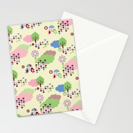 Sweet Land Stationery Cards