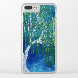 Blustery Clear iPhone Case