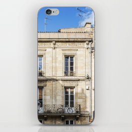 Old building in  Bordeaux iPhone Skin