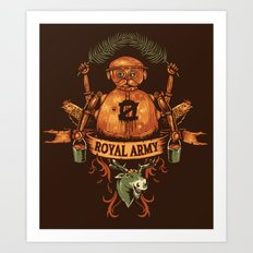 Royal Army Art Print