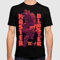 THUNDERDOME: MASTER BLASTER Mens Fitted Tee LARGE Black