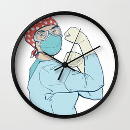 """""""We Got This"""" Wall Clock"""