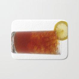 A Glass of Iced Tea Bath Mat