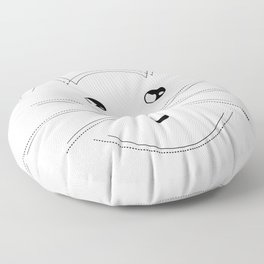 Minimalist Cat Floor Pillow