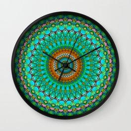 Geometric Mandala G388 Wall Clock