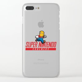Super Nintendo Chalmers Clear iPhone Case