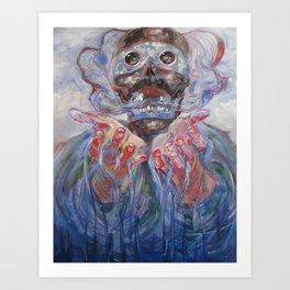 Tezcatlipoca Art Print