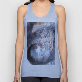 Shell Abstract Unisex Tank Top