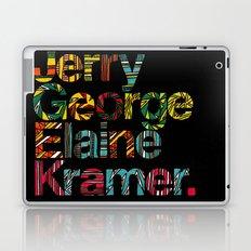 Jerry, George, Elaine & Kramer Laptop & iPad Skin