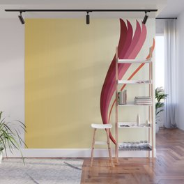 Flame Lily Wall Mural