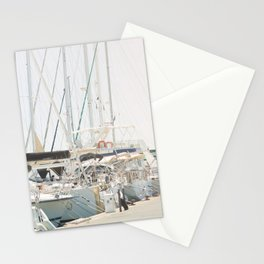 Paradise Harbor | Nautical Travel Photography | Colorful Summer Boats Sea Ocean France Europe Print Stationery Cards