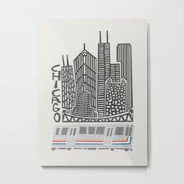 Chicago Cityscape Metal Print