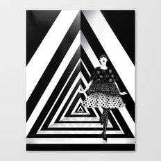 The Many Faces of Peggy Moffitt Canvas Print