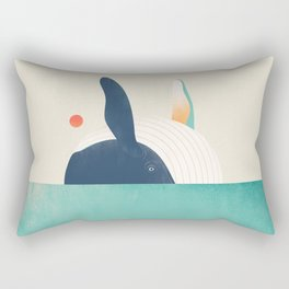 The Great Breach Rectangular Pillow
