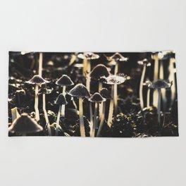 Wild Mushroom's Forest Beach Towel