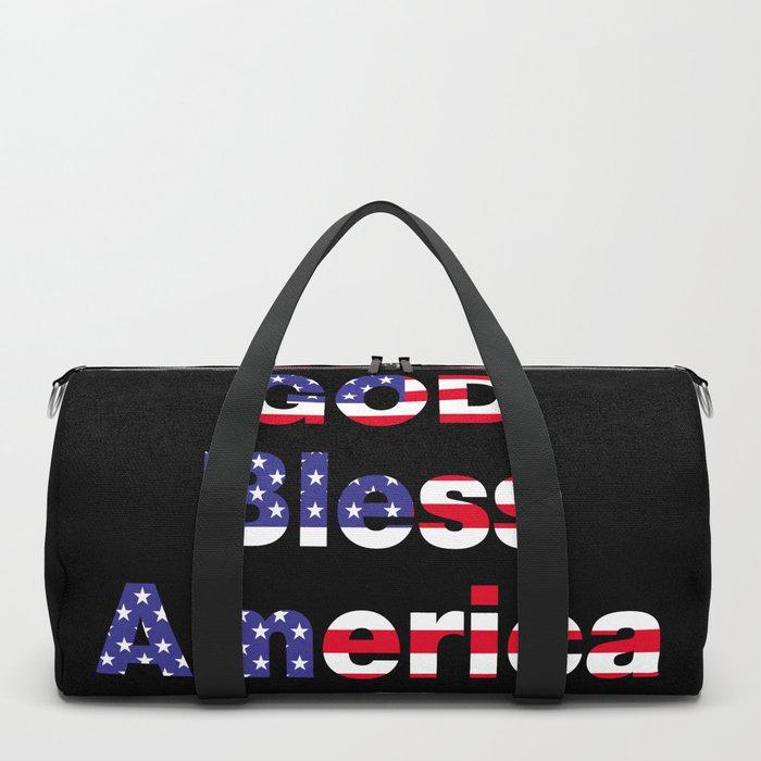 God Bless America Duffle Bag